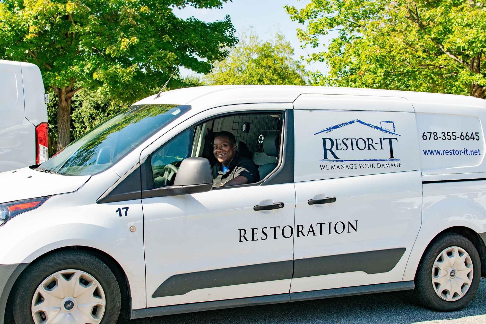 Restor It Service Van